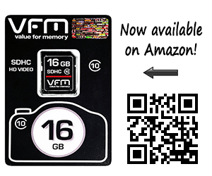 VFM Flash Memory Cards