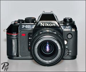 Nikon SLR auto focus Film Cameras