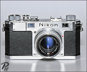 Nikon S Range-Finder 35mm Camera